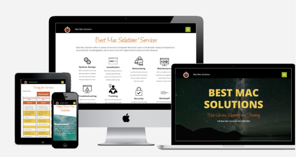 Best Mac Solutions website