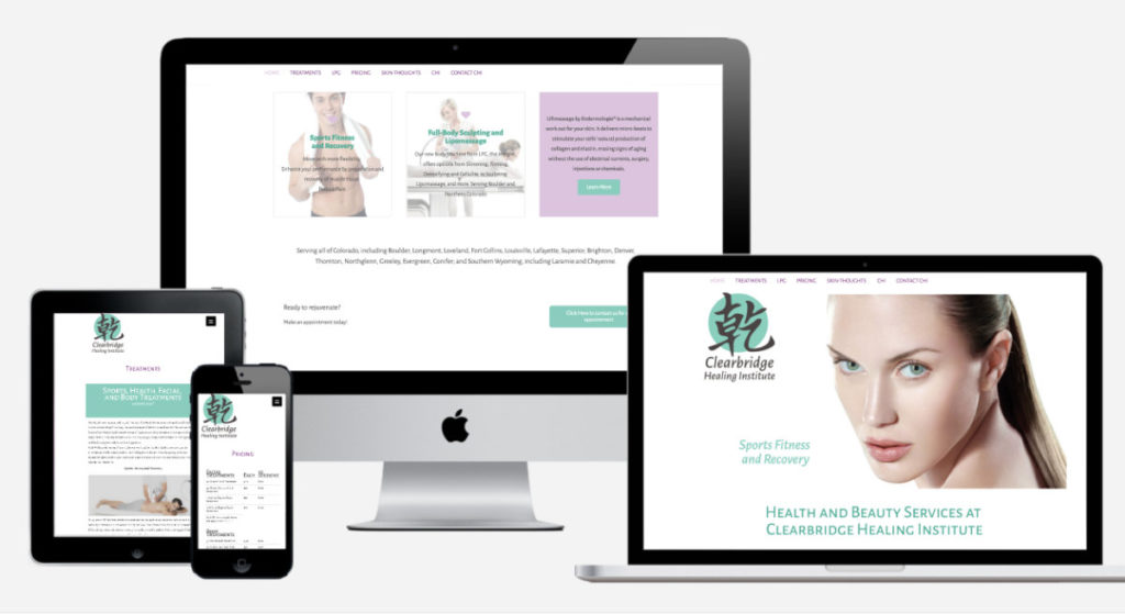 Clearbridge Healing Institute website