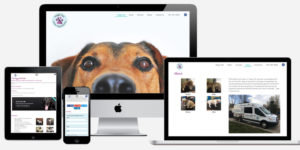 Mobile Dog Grooming website